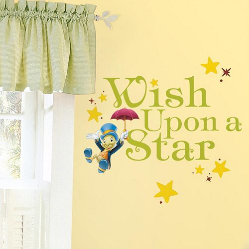 Disney ''Wish Upon a Star'' Wall Decals