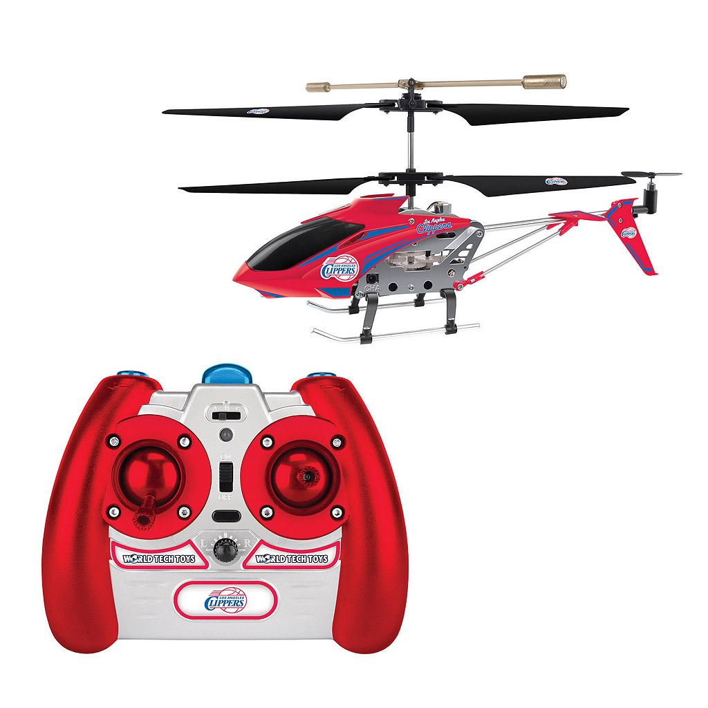 World Tech Toys Los Angeles Clippers 3.5ch RC Helicopter