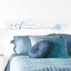 Disney Cinderella ''A Dream'' Wall Decals