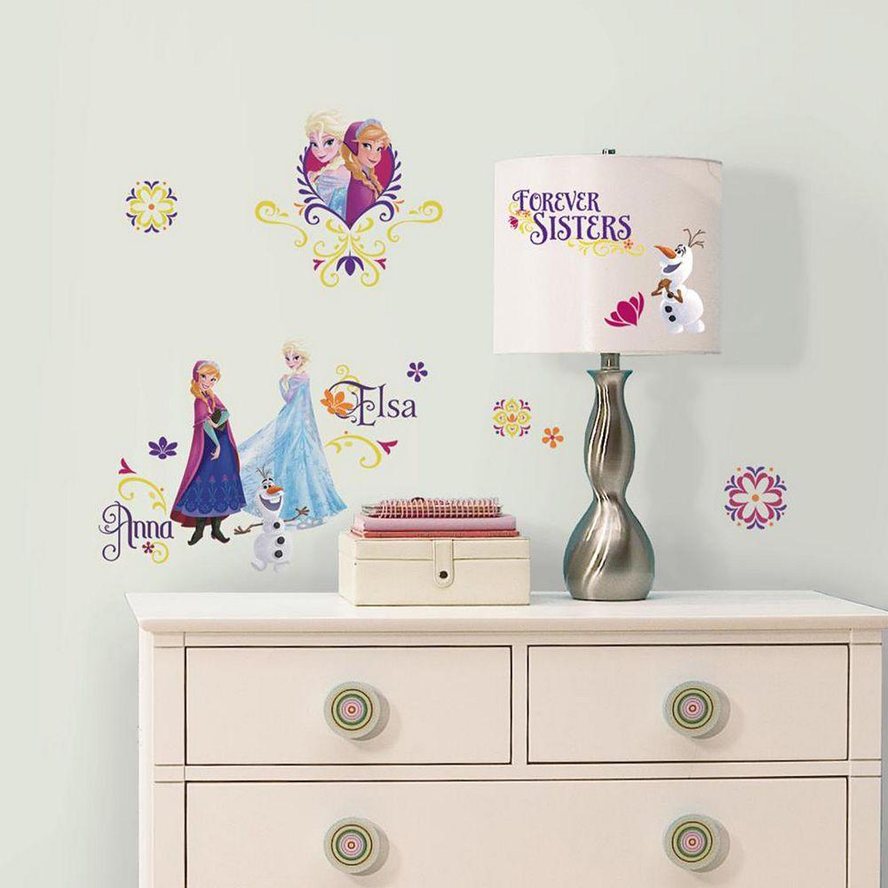 Disney's Frozen Spring Elsa & Anna Wall Decals