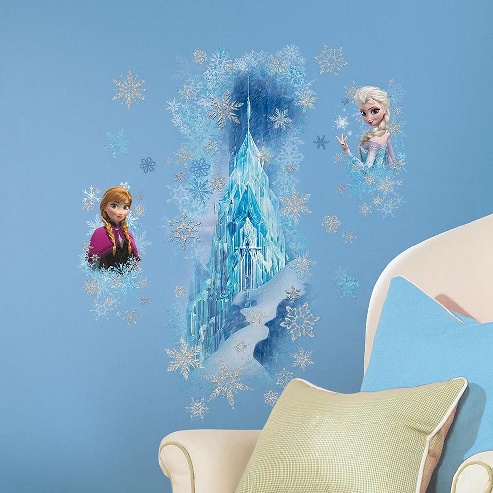 Disney's Frozen Ice Palace Elsa & Anna Wall Decals