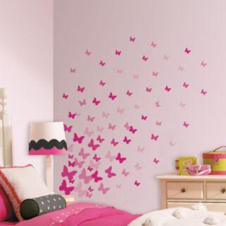 Flutter Butterfly Wall Decals