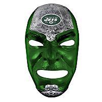 Franklin NFL New York Jets Fan Face Mask - Youth