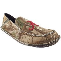 Men's Alabama Crimson Tide Cazulle Realtree Camouflage Canvas Loafers