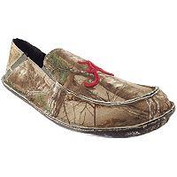 Men's Alabama Crimson Tide Cazulle Realtree Camouflage Canvas Loafers