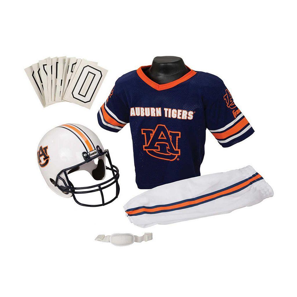 Franklin NCAA Auburn Tigers Deluxe Football Uniform Set