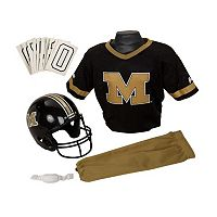 Franklin NCAA Missouri Tigers Deluxe Football Uniform Set