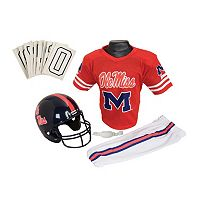 Franklin NCAA Ole Miss Rebels Deluxe Football Uniform Set - Boys
