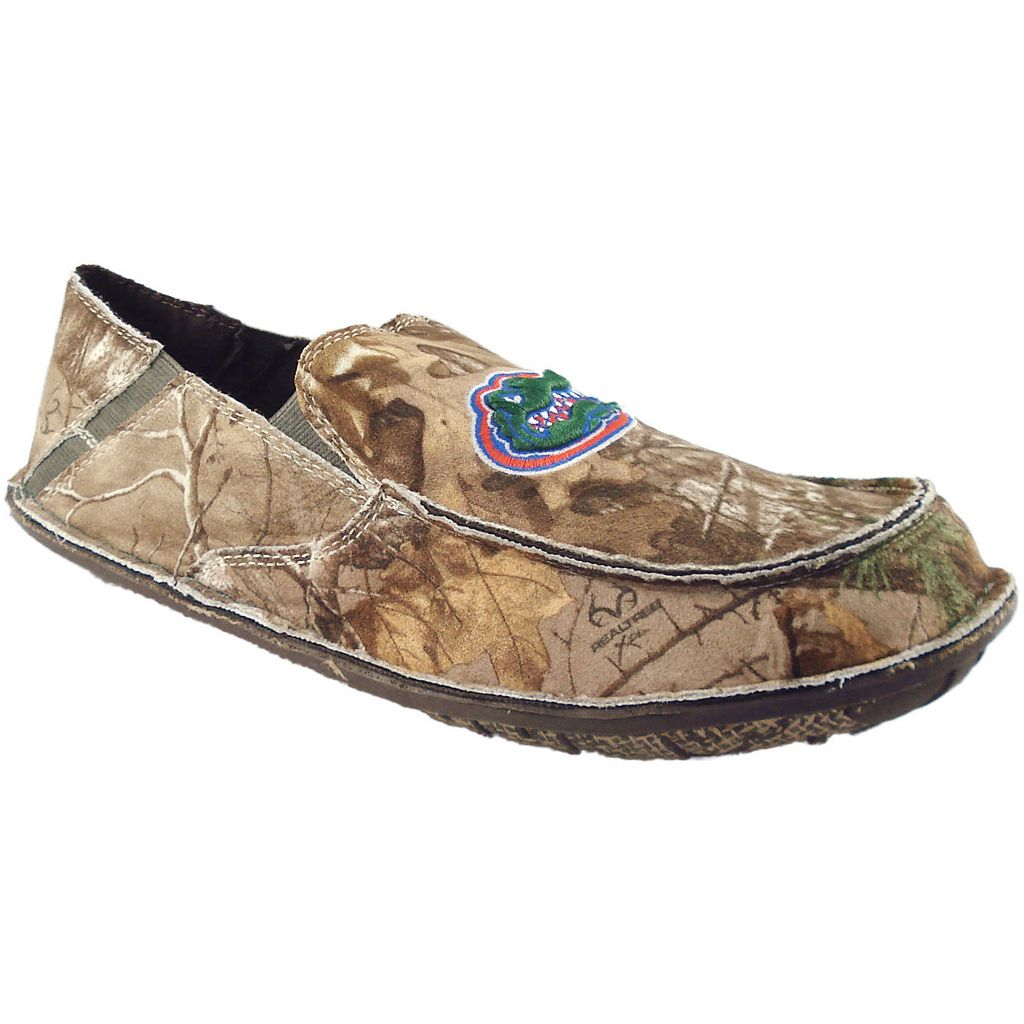 Men's Florida Gators Cazulle Realtree Camouflage Canvas Loafers