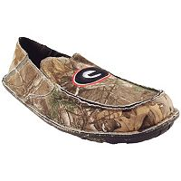 Men's Georgia Bulldogs Cazulle Realtree Camouflage Canvas Loafers