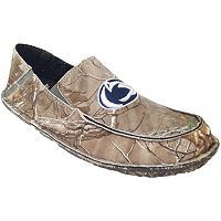 Men's Penn State Nittany Lions Cazulle Realtree Camouflage Canvas Loafers