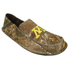 Men's Minnesota Golden Gophers Cazulle Realtree Camouflage Canvas Loafers