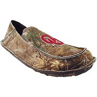 Men's Oklahoma Sooners Cazulle Realtree Camouflage Canvas Loafers