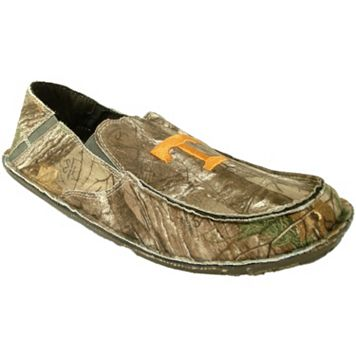 Men's Tennessee Volunteers Cazulle Realtree Camouflage Canvas Loafers