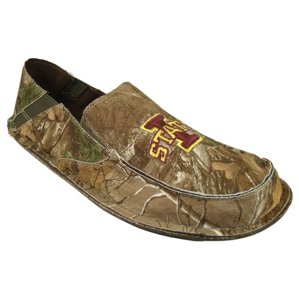 Men's Iowa State Cyclones Cazulle Realtree Camouflage Canvas Loafers