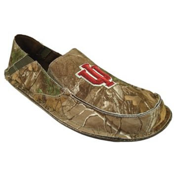 Men's Indiana Hoosiers Cazulle Realtree Camouflage Canvas Loafers