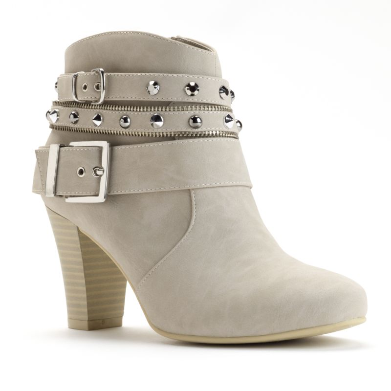 buckle ankle boots kohl s