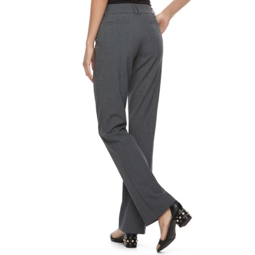 Juniors' Candie's® Audrey Mid-Rise Slimming Bootcut Pants