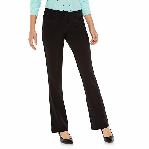 Juniors' Candie's® Audrey Slimming Bootcut Pants