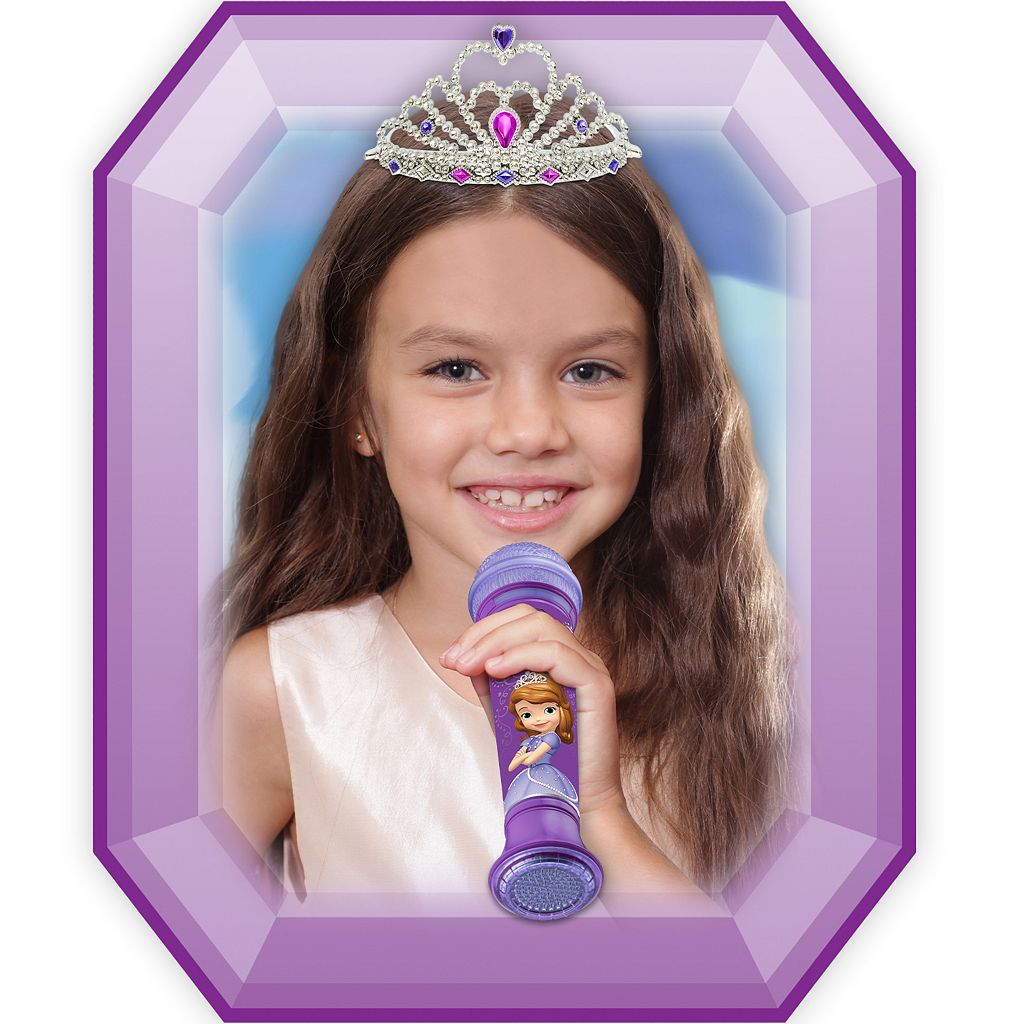Disney Sofia the First Time to Shine MP3 Microphone