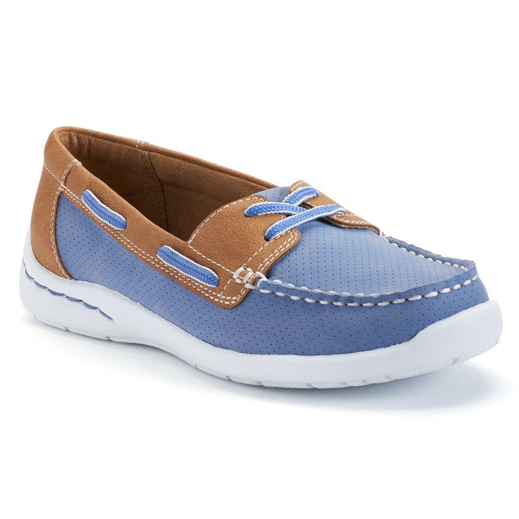 Croft & Barrow® Women's Lightweight Boat Shoes