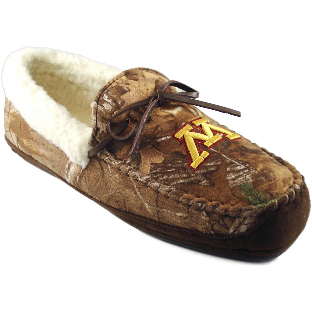 Men's Minnesota Golden Gophers Juno Realtree Camouflage Moccasin