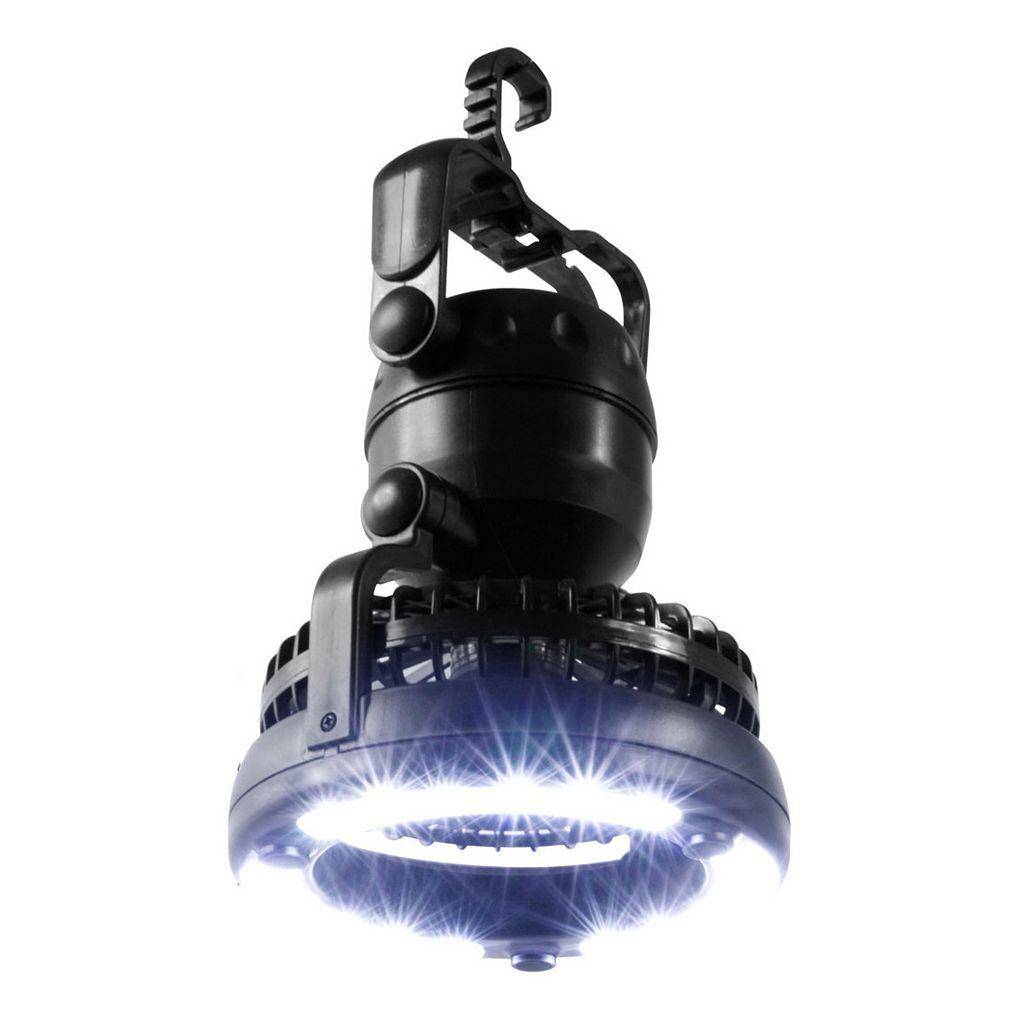 Stalwart 2-in-1 LED Lantern & Fan