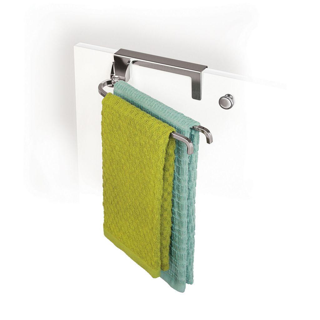 Lynk Over-the-Cabinet Pivoting Double Towel Bar