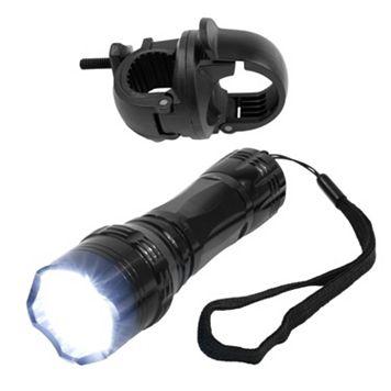 Whetstone LED Flashlight with Bicycle Clip