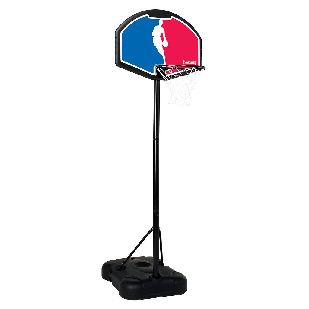 Spalding 32-in. Eco-Composite NBA Portable Basketball Hoop - Youth