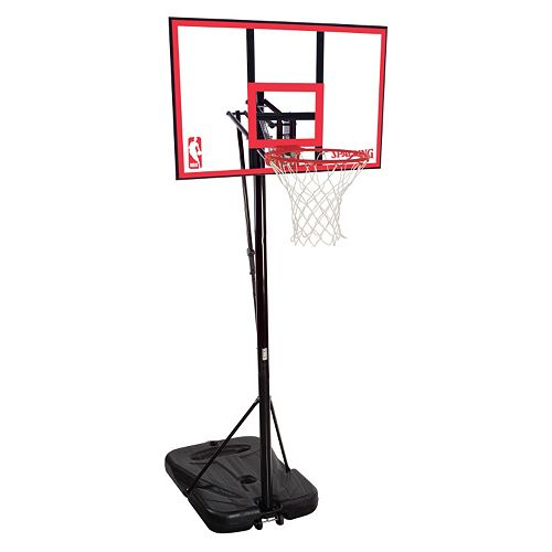 Spalding 44-in. Polycarbonate Portable Basketball Hoop
