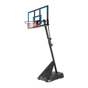 Spalding 50-in. Acrylic Portable Basketball Hoop