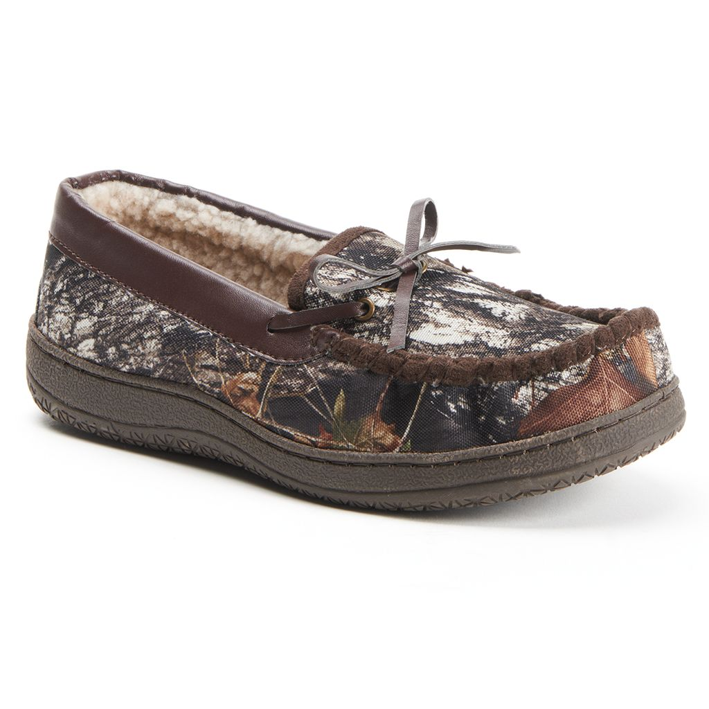 Itasca Sportsman Men's Camouflage Moccasin Slippers