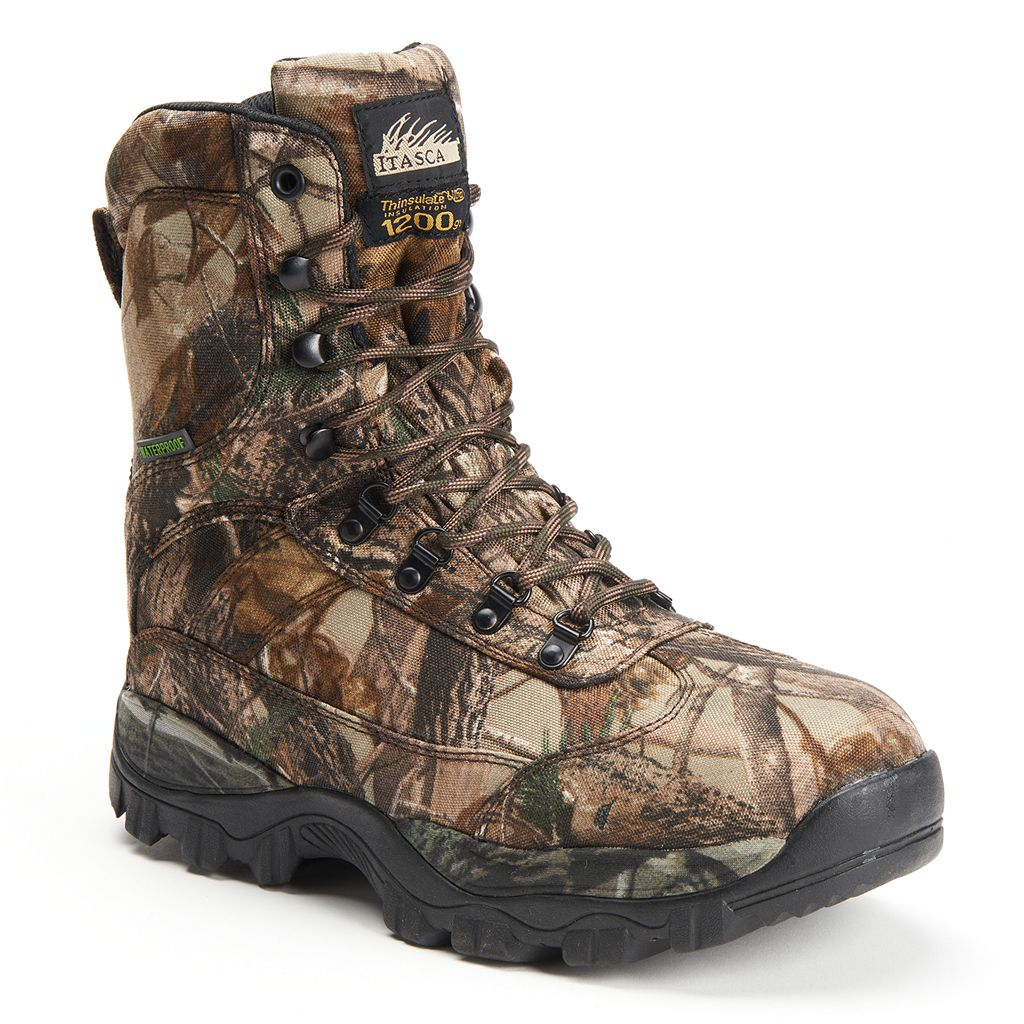 Itasca Carbine Men's Camouflage Waterproof Boots
