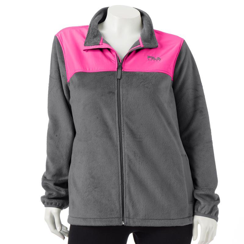 FILA SPORT Biella Performance Fleece Jacket - Women's Plus Size