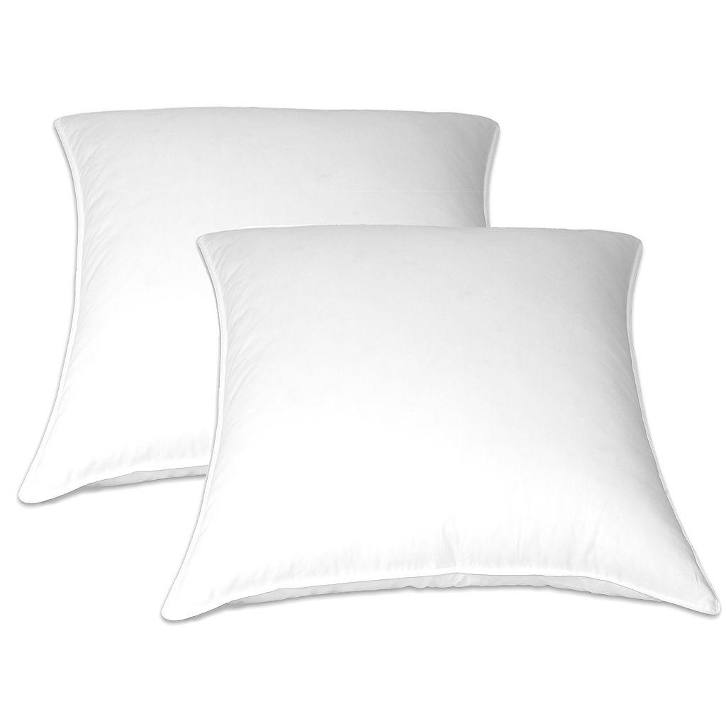 Royal Majesty European 2-pk. Feather Pillows