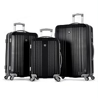 Olympia Corsair 3-Piece Hardside Spinner Luggage Set