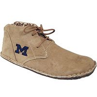Men's Michigan Wolverines 2-Eye Chukka Boots