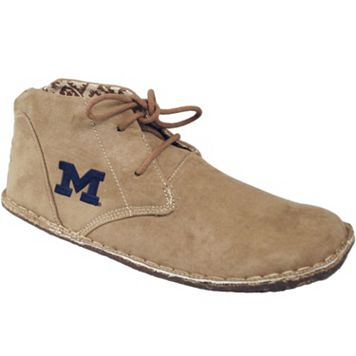 Men's Michigan Wolverines 2-Eye Chukka Boots