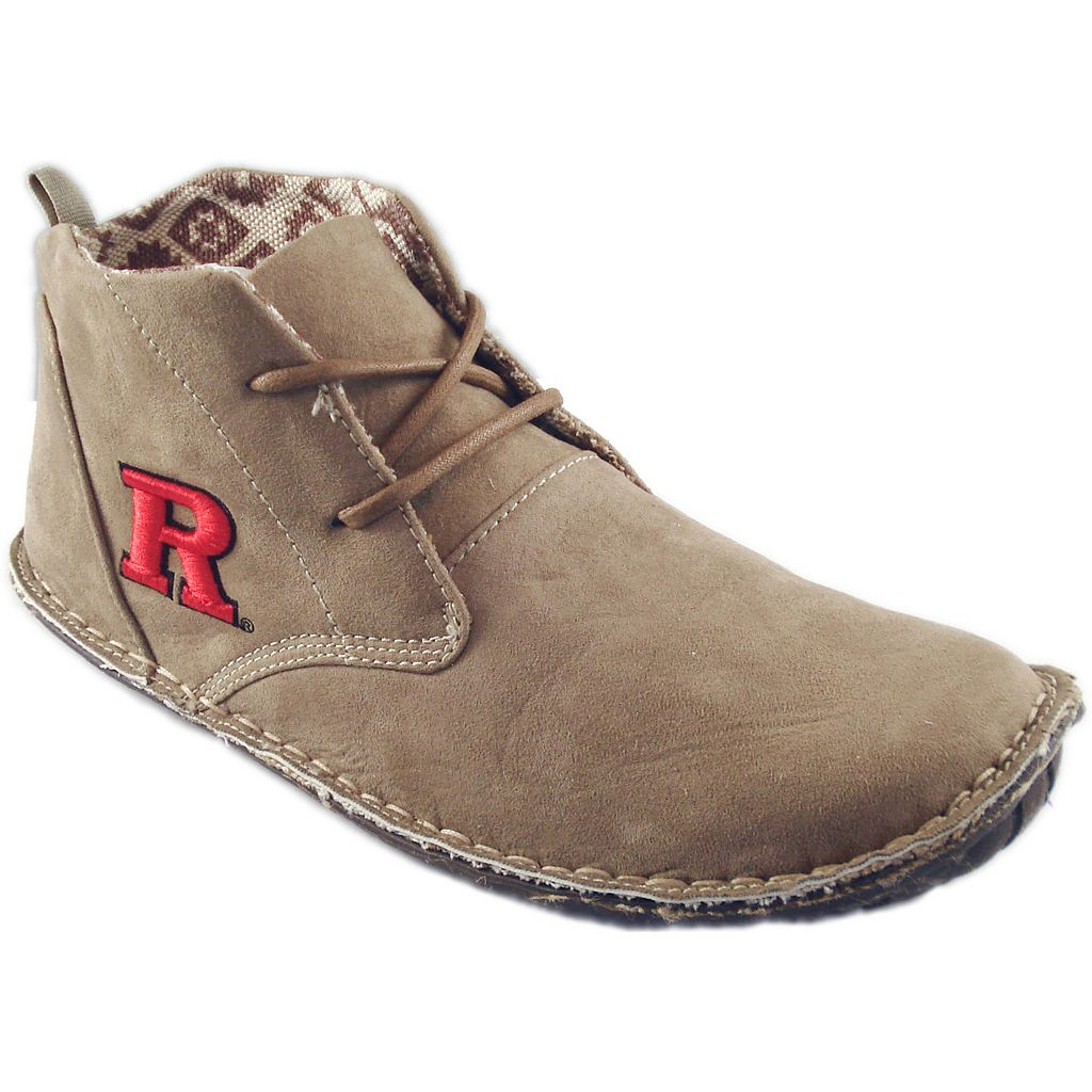 Men's Rutgers Scarlet Knights 2-Eye Chukka Boots