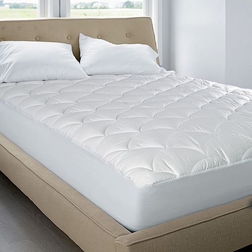 Royal Majesty Dual Action Deluxe Down-Alternative Stain-Resistant Deep-Pocket Mattress Pad