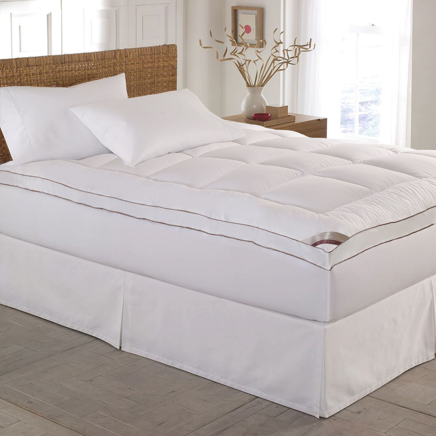 kathy ireland 2inch quilted deeppocket mattress topper