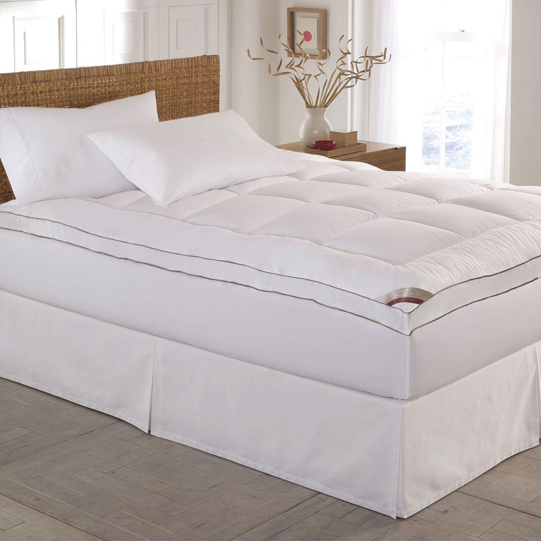 quilted deeppocket mattress topper