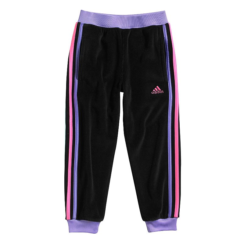 Adidas Soccer Pants For Girls in Pink Adidas Velour Pants Girls 4