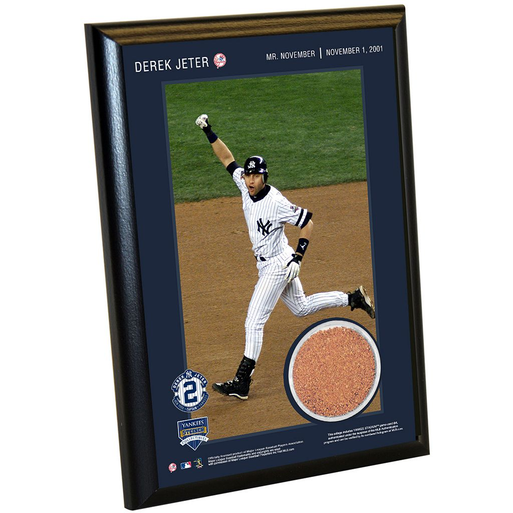 Steiner Sports New York Yankees Derek Jeter Moments Mr. November Home Run 5
