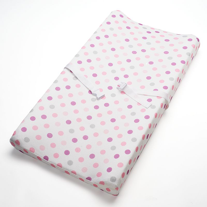 Breathable Baby Breathable Changing Pad Cover, Pink