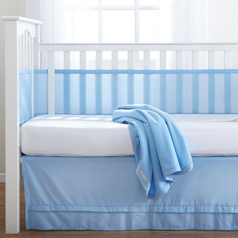 Breathable Baby 3-pc. Crib Bedding Set, Blue