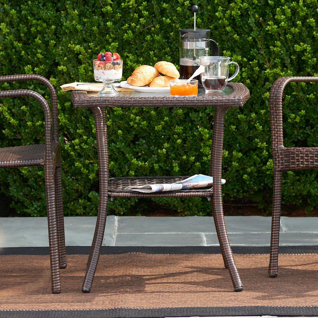 SONOMA Goods for Life™ Presidio Wicker Bistro Table