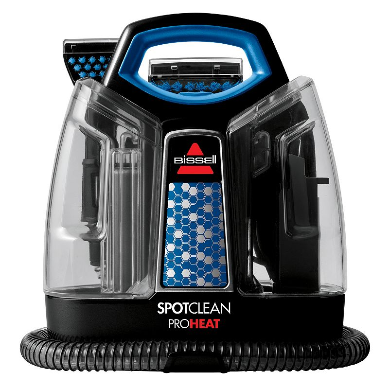 Bissell SpotClean ProHeat Portable Carpet Cleaner, Black