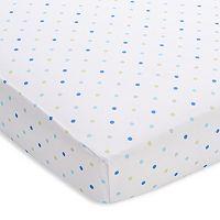 Breathable Baby Mini Dot Print Breathable Sheet